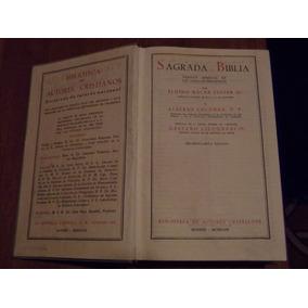 Sagrada Biblia. Biblioteca De Autores Cristianos,madrid 1963