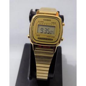 2622a0183f9b Reloj Casio Dorado Fondo Negro - Reloj de Pulsera en Mercado Libre ...
