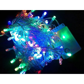 00a6ba41c1332 Luces Led Para Decoracion Y Navidad X 100 Luces 8 Func 8 Mts ...
