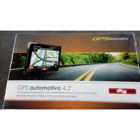 Gps Automotivo 4.3 Guia Quatro Rodas