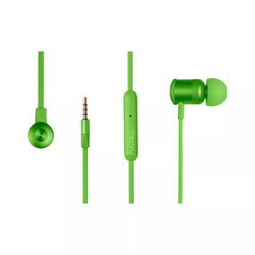 Fone De Ouvido Auricular Earphone Neon Pulse Verde Ph189