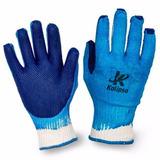 Kit Com 10 Pares De Luvas Blue Grip Azul Reforçada Kalipso a5d2878728