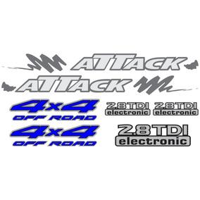 Kit Adesivos Nissan Frontier Attack 4x4 Mod2