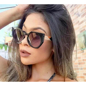 7f0161c04a607 Oculos Feminino Blogueira - Óculos no Mercado Livre Brasil