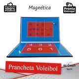 Prancheta Tática Magnética Para Vôlei   Caneta+apagador+ímã 6985c4b728e3a