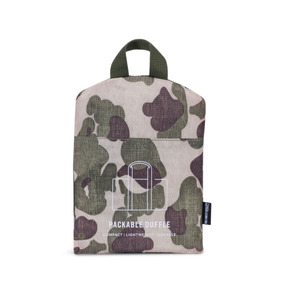 Bolso Herschel Supply Plegable Duffle Frog Camo