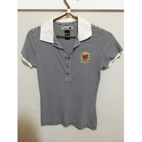8909eb2028 Camiseta Polo Feminina Colcci Feminina M Semi Nova