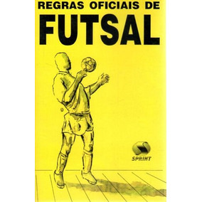 3ac860093fe86 Livro Regras Oficiais De Futsal - Livros no Mercado Livre Brasil