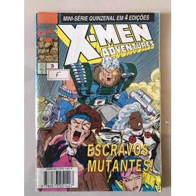Gibi X-men Adventures Nº:3 - Marvel Comics - Ed. Abril Jovem