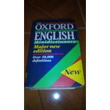 Diccionario De Inglés Oxford