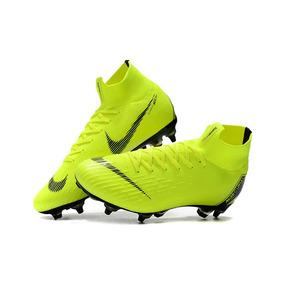 ed667cd79f Chuteira Nike Mercurial Amarela E Laranja Adultos - Chuteiras no ...