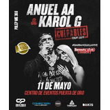 Boletas Anuel Aa Barranquilla 11 De Mayo Superplatino