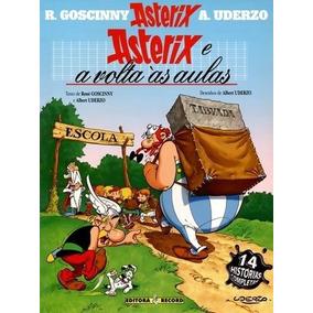 Livro Asterix E A Volta Às Aulas René Goscinny Editor Record