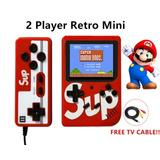 Mini Consola Portatil Game Box Retro 400 Juegos Control Extr