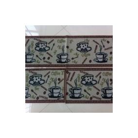 14d96c544 Kit Tapete De Cozinha Coffee - Casa