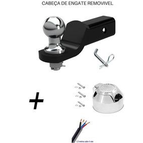 Cabeça Removivel Engate Reboque Universal L200 Trolher Toma