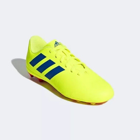 374115f497 Tacos De Fútbol Adidas De Bota - Tacos y Tenis Amarillo de Fútbol en ...