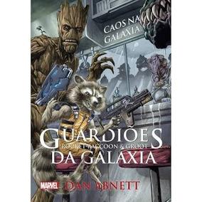 Livro - Guardiões Da Galáxia: Rocket Raccoon E Groot -