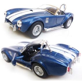 Miniatura Shelby Cobra 1965 Metal Ferro Fricção Coleção