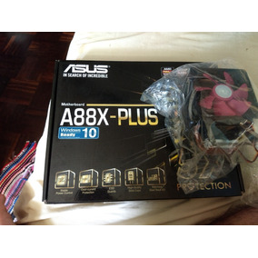 Kit Placa Mãe A88x - Plus + Proc A8 6500 + Cooler Blizza T2