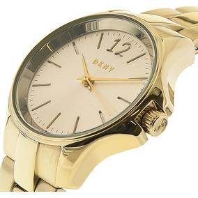 Relógio Feminino Dourado Dkny Casual Ny2523