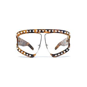 Lente De Sol Estilo Gucci Color Marrón, Glasses G3, Pop8106
