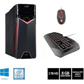 Desktop Acer Gamer Core I5 8gb 1tb Gforce Gtx 1050ti W10