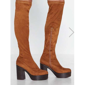 Botas Altas Con Plataforma - Zapatos de Mujer en Mercado Libre Argentina 9724fcda8149