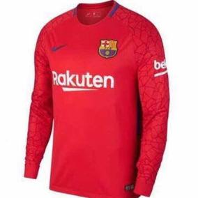Camiseta Goleiro Barcelona Infantil 2019 - Personalizado 3e248e994600f