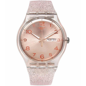 7b4b99e1e4b Swatch Golden Block Green Ladies Watch Yog406g E Oro.gr - Relógios ...