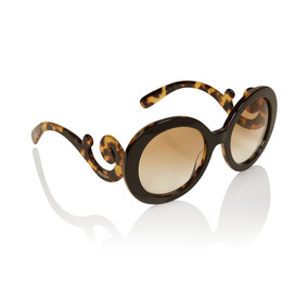 Oculos Prada Baroque Quadrado Original De Sol - Óculos De Sol no ... 6221caa85e
