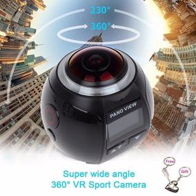 Câmera Filmadora Esportes Panoramica Filma 360 Xdv Ultra Hd