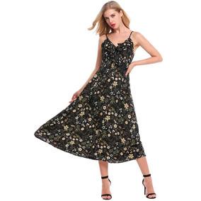Vestido Con Lunares Vestidos De Gasa Estampada - Vestidos de Mujer ... e6c5592c095a