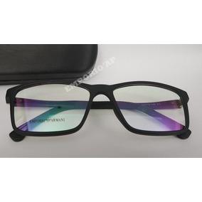 bf81e67dead75 Emporio Armani Armação P  Óculos De Grau Azul - Óculos no Mercado ...