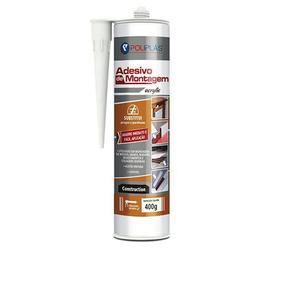 Adesivo Branco De Montagem Painéis, Móveis E Rodapés 400gr