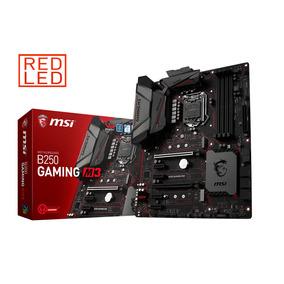 Tarjeta Madre 1151 Msi Gaming M3 B250 Ddr4 Usb3.1 Hdmi Led