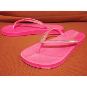 Sandalias Flip-flops Jelly Plástico Ipanema No. 22 Usadas