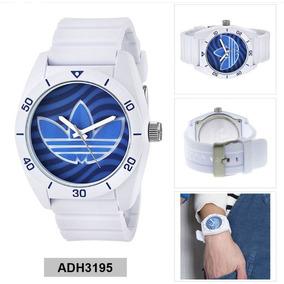 Reloj Casual adidas Analógico Santiago Branco Unisex Adh3195