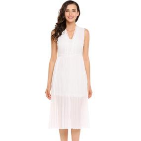 Vestido encaje blanco chile