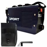 Máquina Inversor De Solda Tig Eletrodo 127v + Máscara Fort
