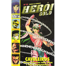 Revista Herói Gold 32 - Changeman / Youngblood / Shurato