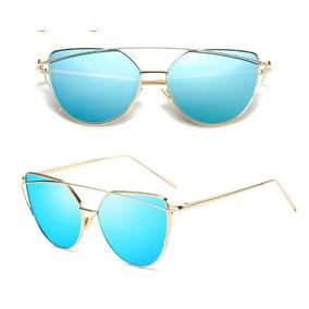 23e4826572326 Oculos Espelhados Baratos Azul - Óculos no Mercado Livre Brasil