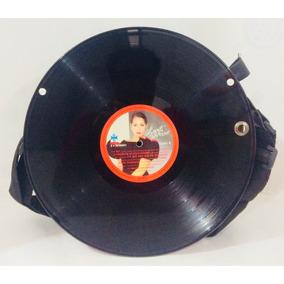 Bolsa Estilo Disco Acetato Unisex Nueva 30x30cm X70 2559034e8ae