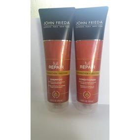 Shampoo + Condic.john Frieda Full Repair-valor De 2 Kits