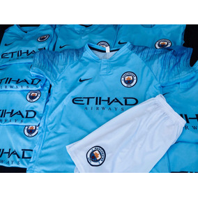 23 Uniformes Manchester City Local Completos Buena Calidad