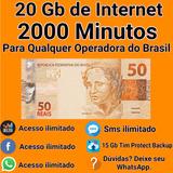 Tim Convite Beta 20 Gb + 2000 Minutos + Suporte 24 Hrs