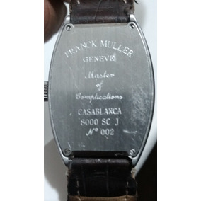 Reloj Franck Muller Geneve Casa Blanca