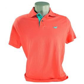 Camiseta Polo Hollister Importada Original Promoção bf8ef8be30a46