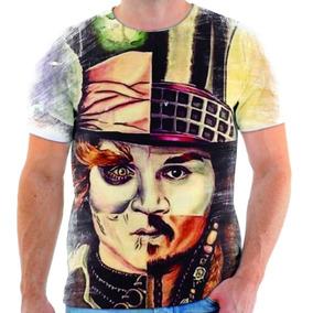 Blusa Com Estampa Johnny Depp - Calçados 3220bf93d37