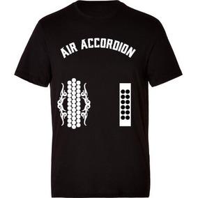 Camiseta Estampada Acordeón Air Style / Con Envío